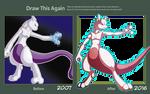 Draw this Again! Mewtwo