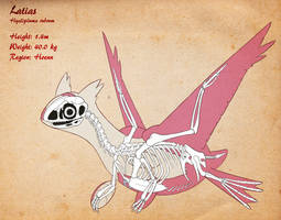 Latias Skeleton