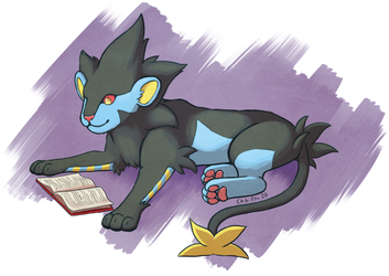 [Art Fight] Sink your teeth into a good book