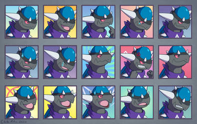Cabot Expression Sheet [Commission]