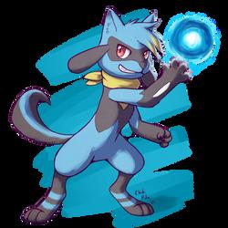 [Art Fight] Aura Sphere!