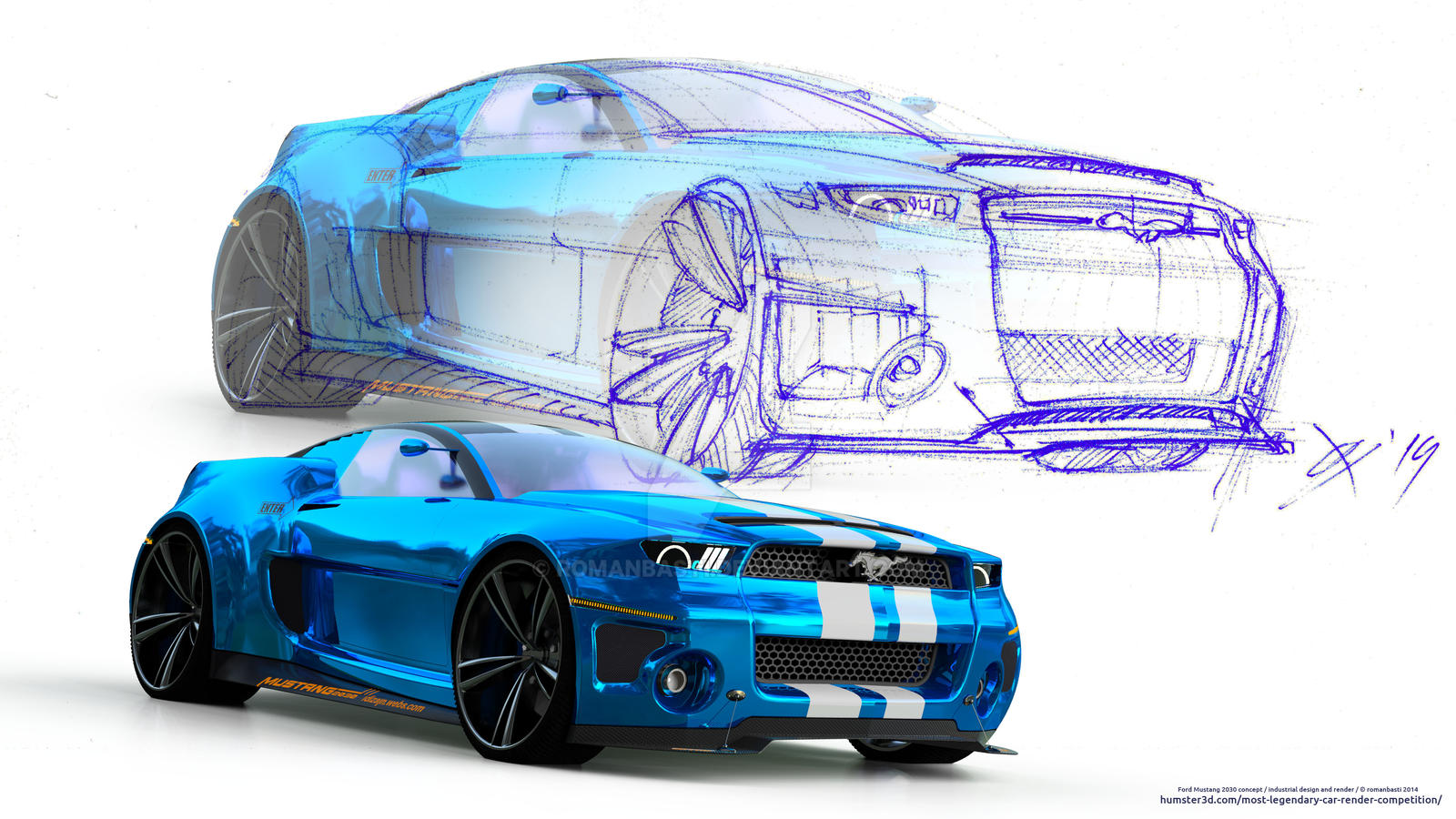 RB Mustang2030 concept Y2015 by romanbasti on DeviantArt