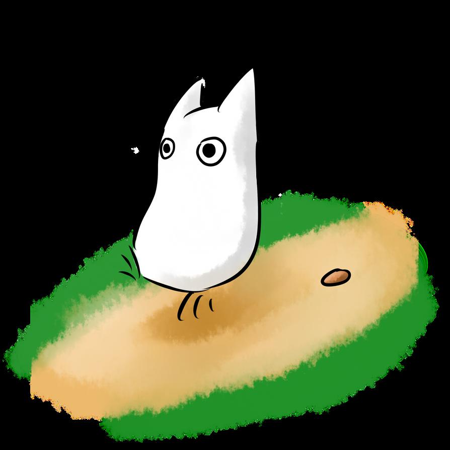 White Totoro by HimeHeishi on DeviantArt