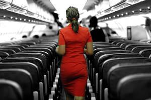 .air hostess by caspell