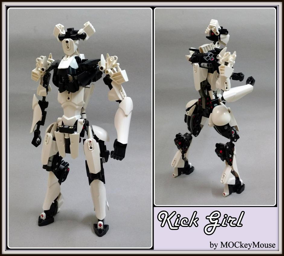 Kick Girl by MOCkeyMouse