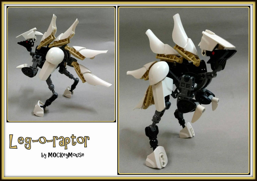 Leg-o-raptor by MOCkeyMouse