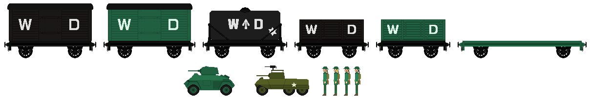 WD Wagons For JamesFan1991(and extras) by DanielArkansanEngine
