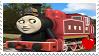 Red Rosie Stamp by DanielArkansanEngine