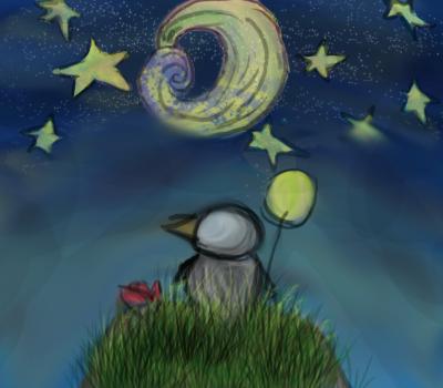 NightSky by redfirefly33