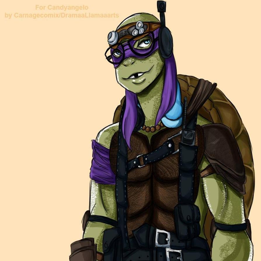 Art Trade: Donatello TMNT by CarnageComix