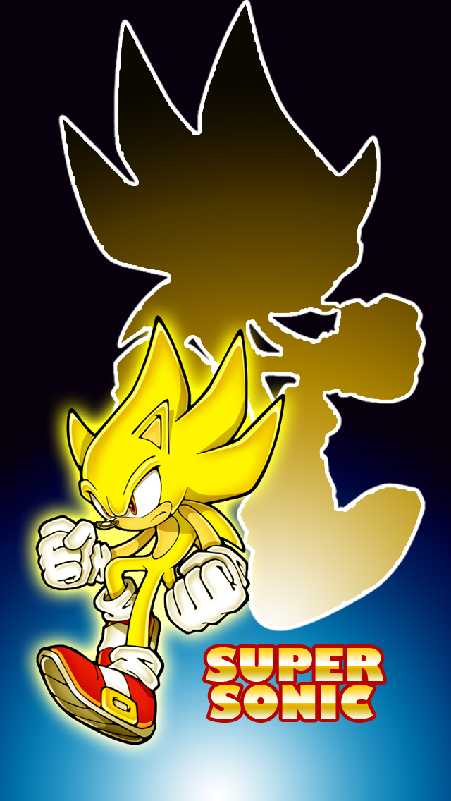 Super Sonic IPhone Wallpaper By Inglip007