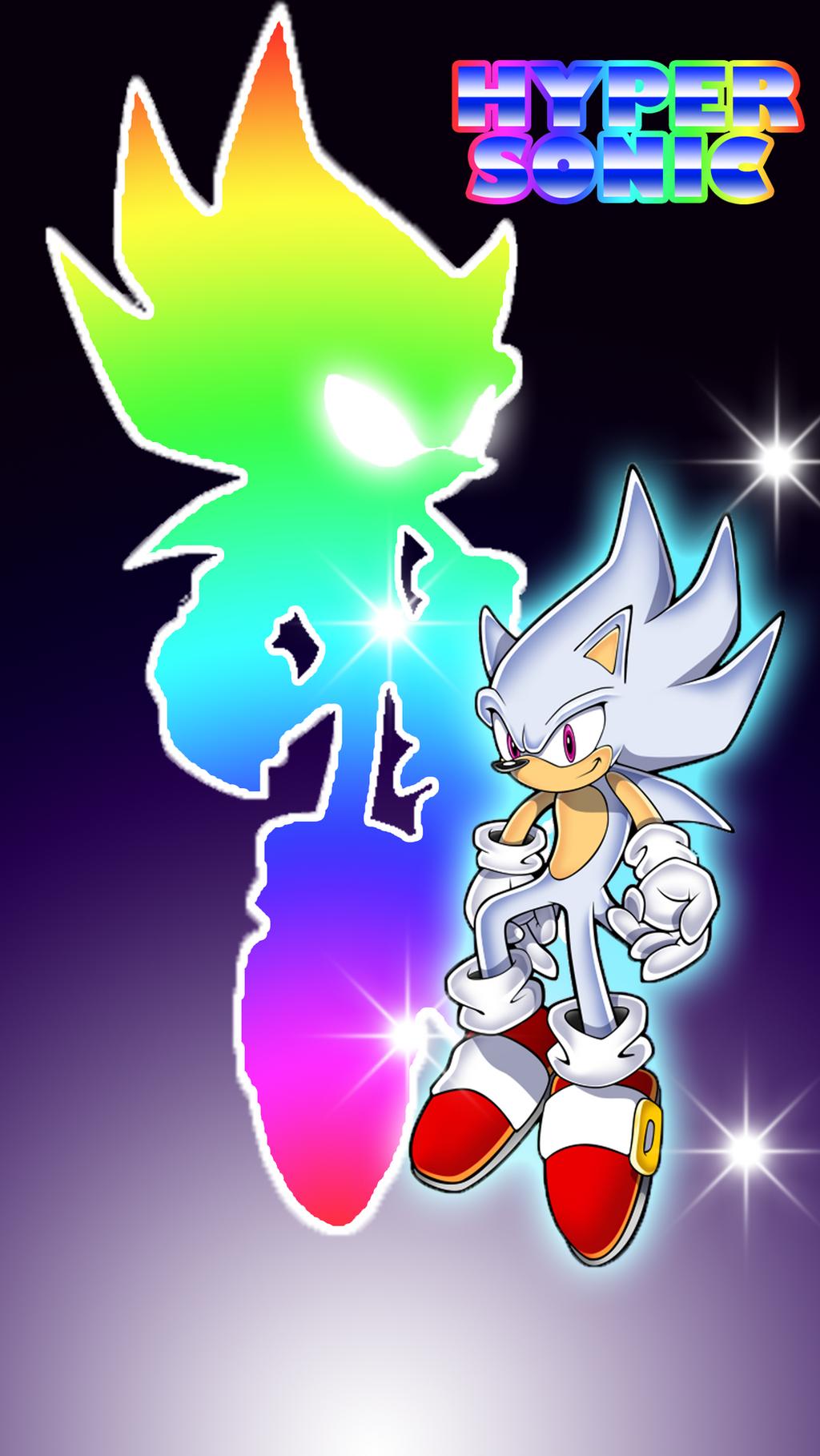 Hyper Sonic IPhone Wallpaper By Inglip007