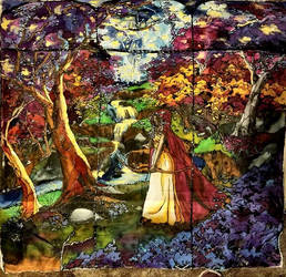 Stained Glass Forest by KATHERINEANNE16