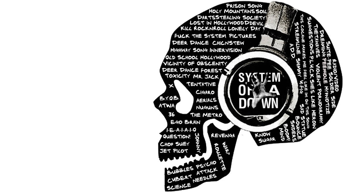 System Of A Down - Skull by isaacklein