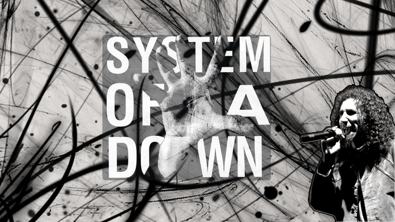 wallpaper serj tankian system of a down by isaacklein