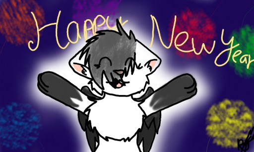 Happy New year~ by ravensaravengirl