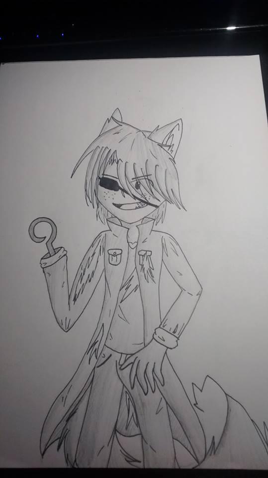 human foxy by ravensaravengirl