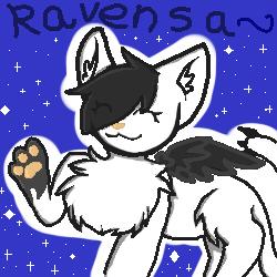sparkly ravensa icon by ravensaravengirl