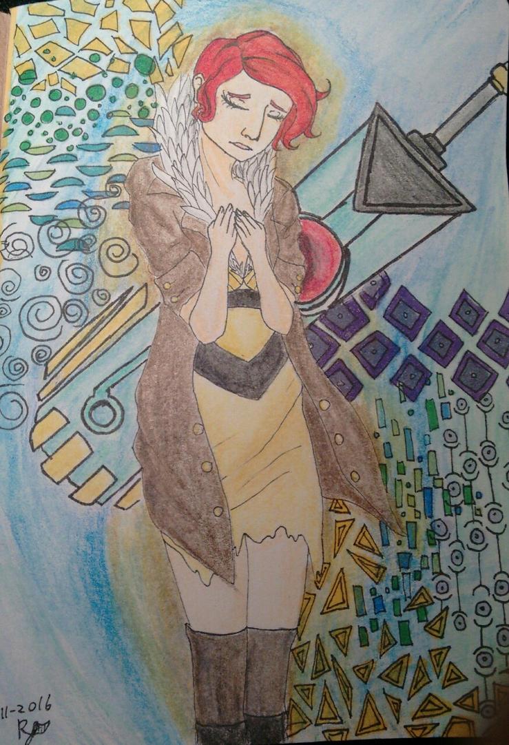 Red (transistor) by ravensaravengirl