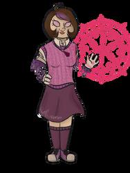 Girl Oc by ravensaravengirl