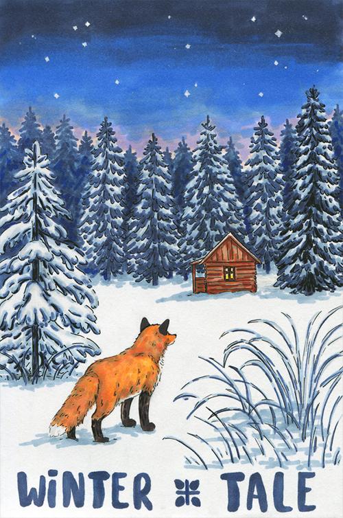 Winter tale by aileensea