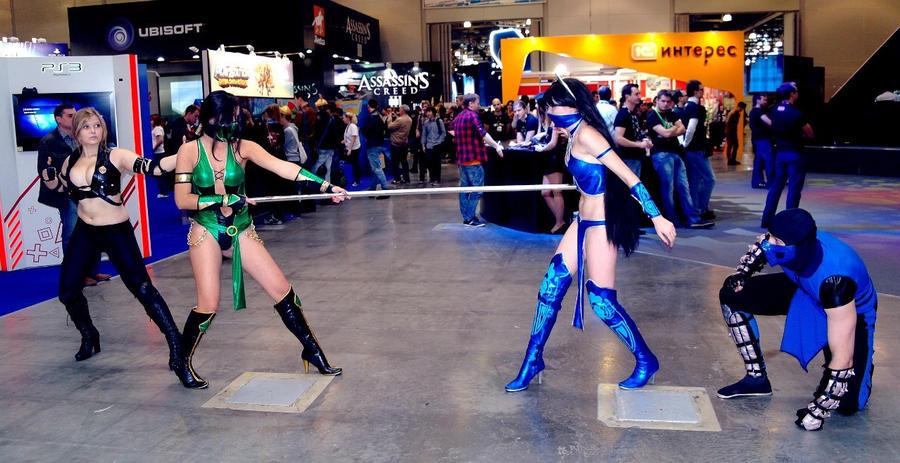 Mortal Combat: Sonya, Jade, Kitana, Sub - Zero by ...