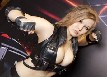 Mortal Kombat : Sonya Blade by Okani1995
