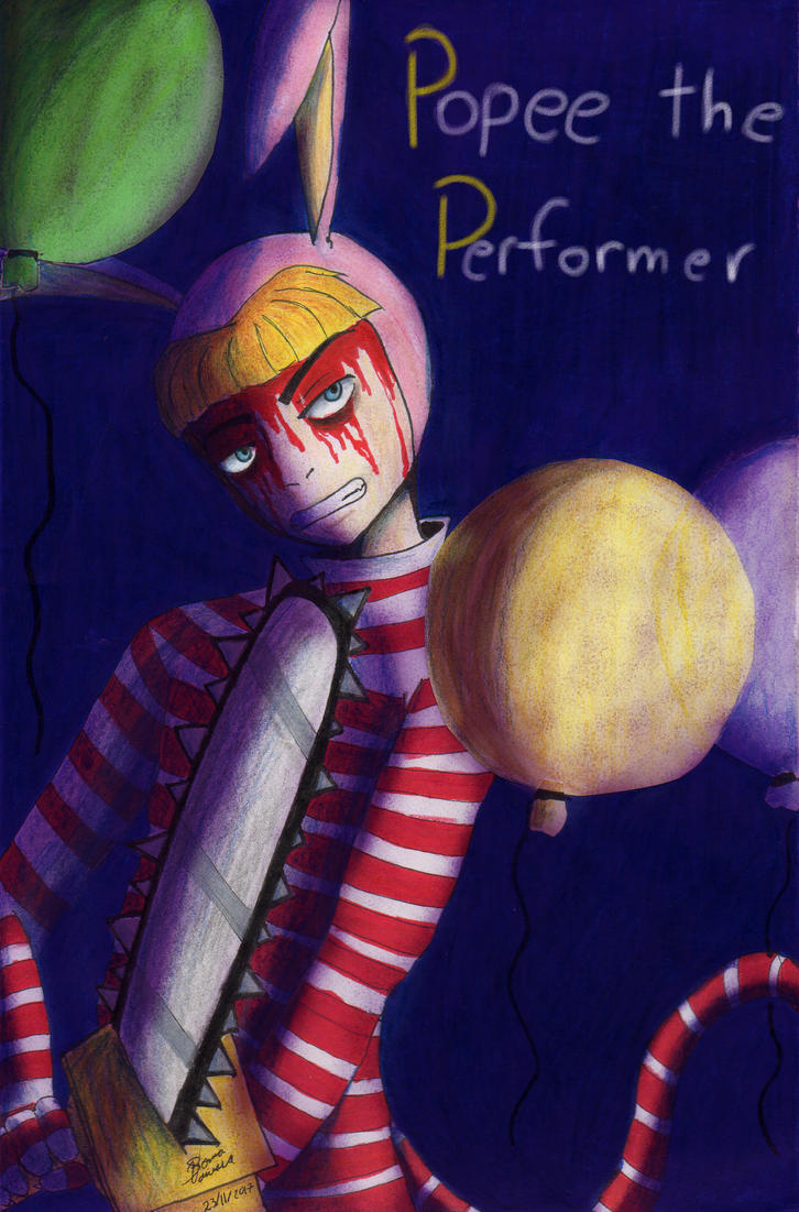 Popee the Performer by vanessachibiamore