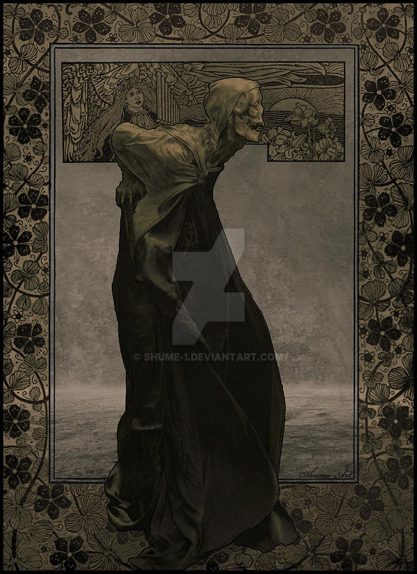 OLD DEATH-Art Nouveau by SHUME-1
