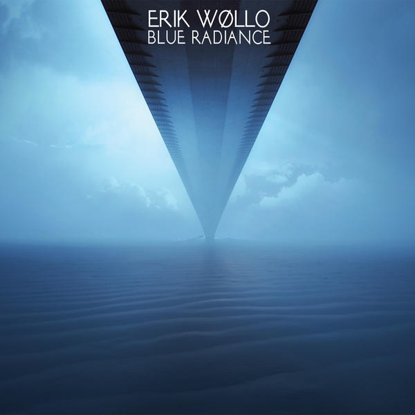 ERIK WOLLO  BLUE RADIANCE cover design by SHUME-1