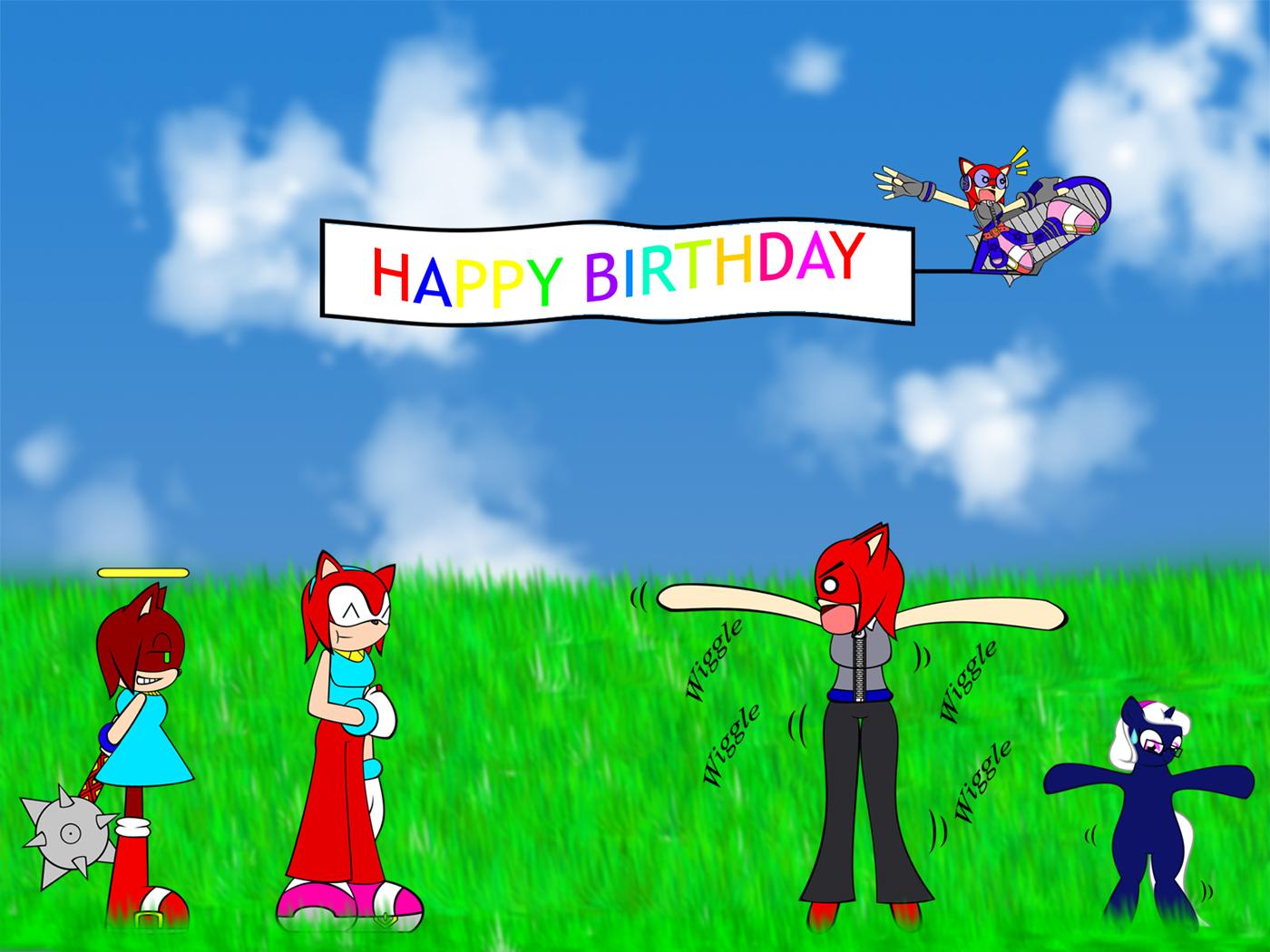 Happy Birthday Asha~! by Chitsune