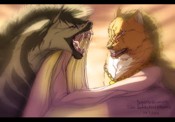 Silas and Dropenso by Kamm0