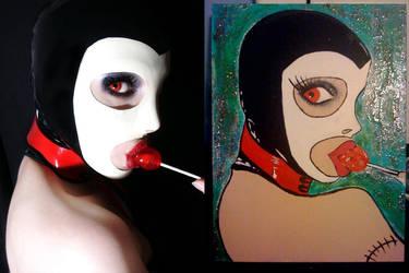 Rubber Lenna Paint
