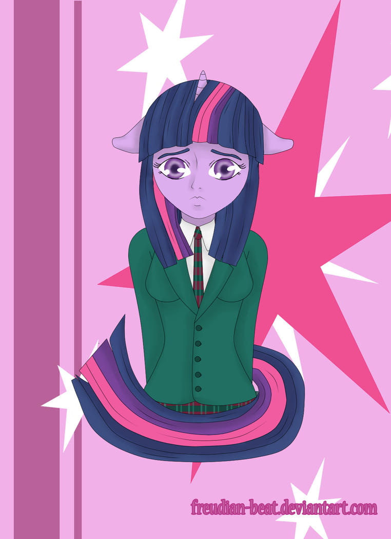 Twilight Sparkle No L13k T3h R43p by Freudian-Beat
