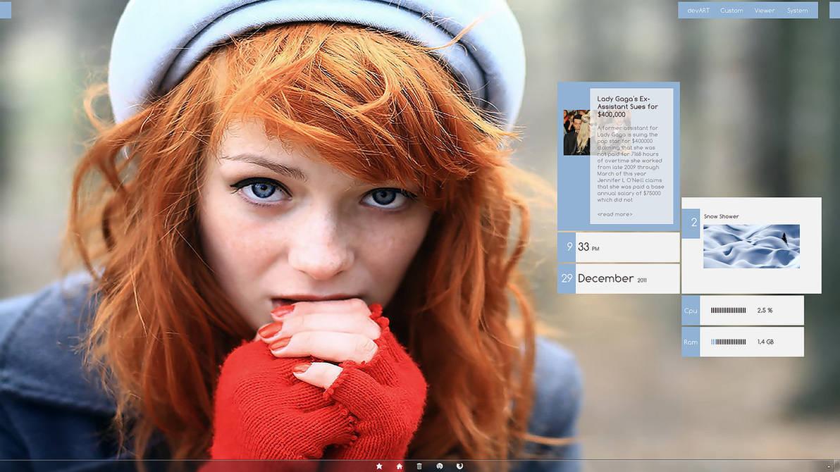 Redhead Girl by joerg285 ...