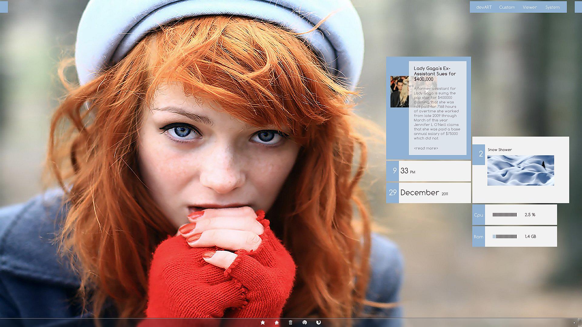 Redhead Girl by joerg285