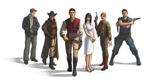 Redemption Cast Line-up