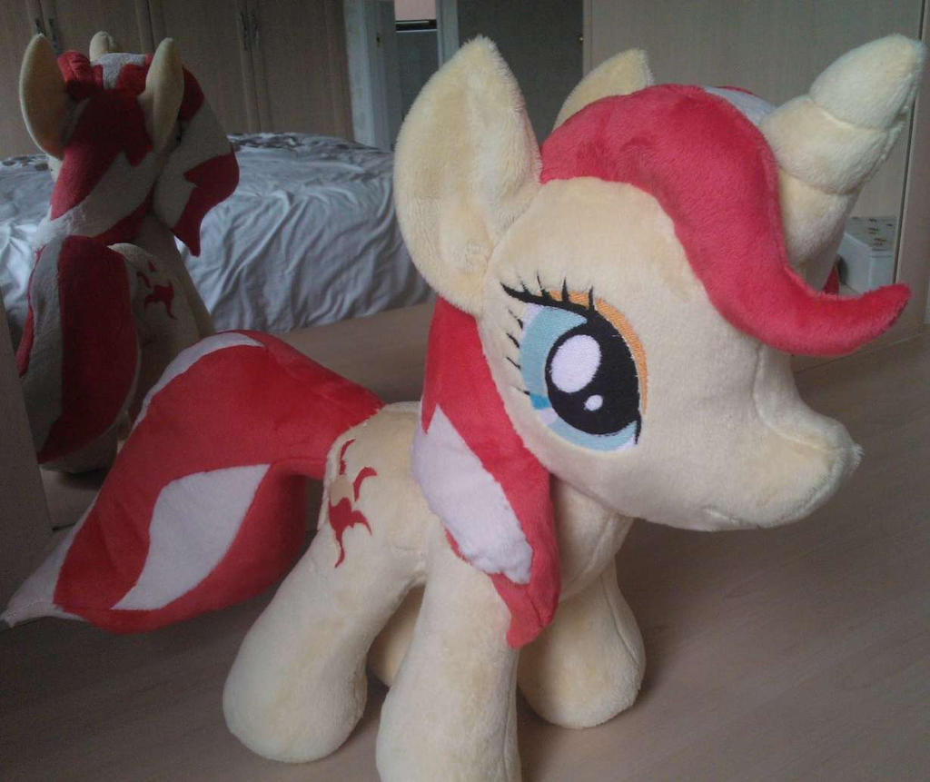 Sunset Shimmer Plush by Jillah92