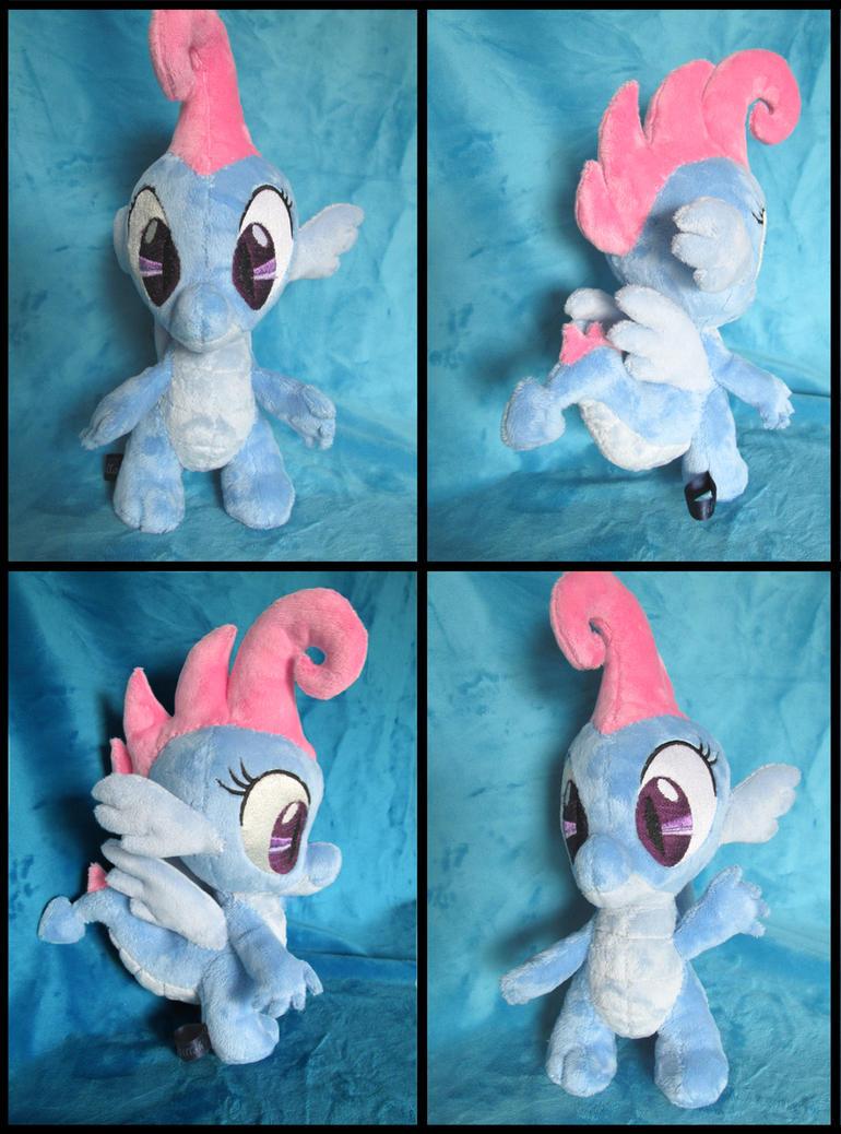 Dim Sum / Krystal the dragon plushie! by Jillah92