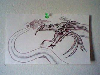 Forest Serpent (poor) by RachelRage