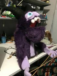 Ralph the monster puppet 1 by KNuhn