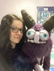 Ralph the monster puppet 4 by KNuhn