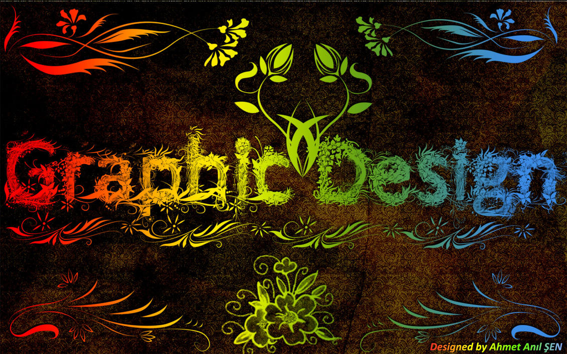 Love Graphic Design Wallpaper : Graphic Design by DaNNyTR on DeviantArt