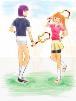 brass  racket