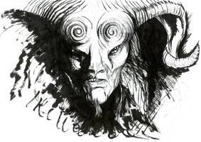 Guillermo del toro's Fauno by TheRealDarkRevan