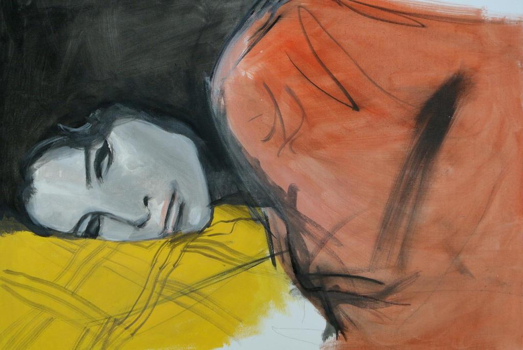 Sleeping Amy Winehouse by TheRealDarkRevan