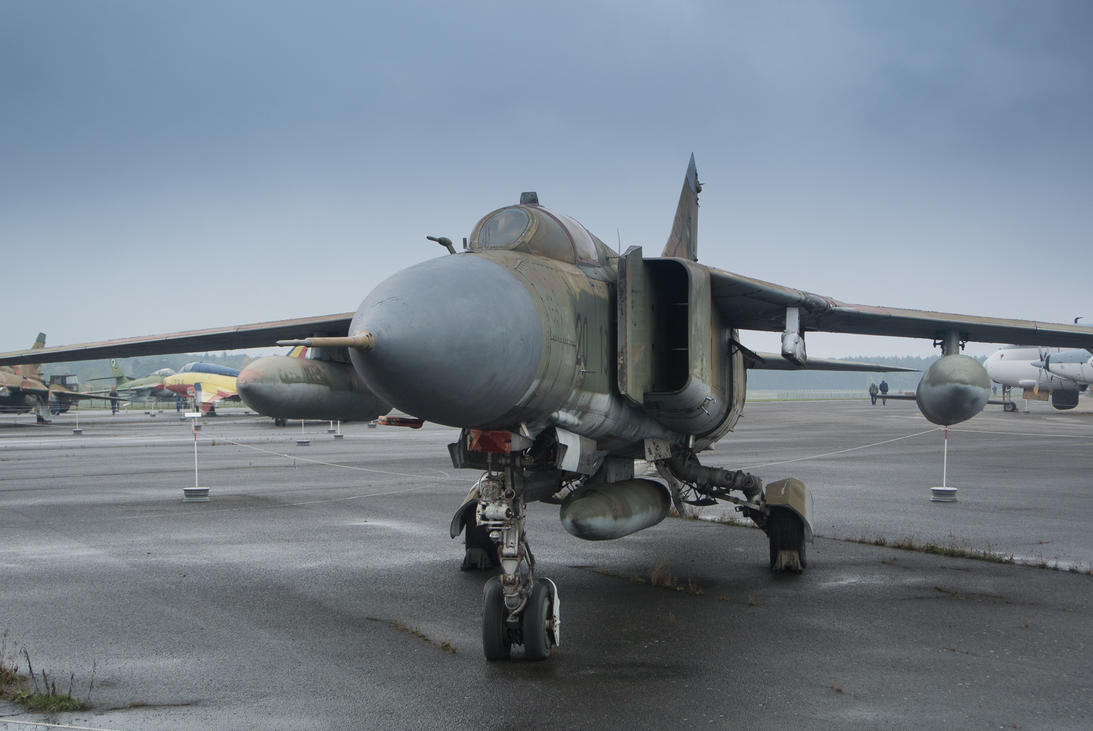 Sights of the cold war I: Mig-23 by TheRealDarkRevan