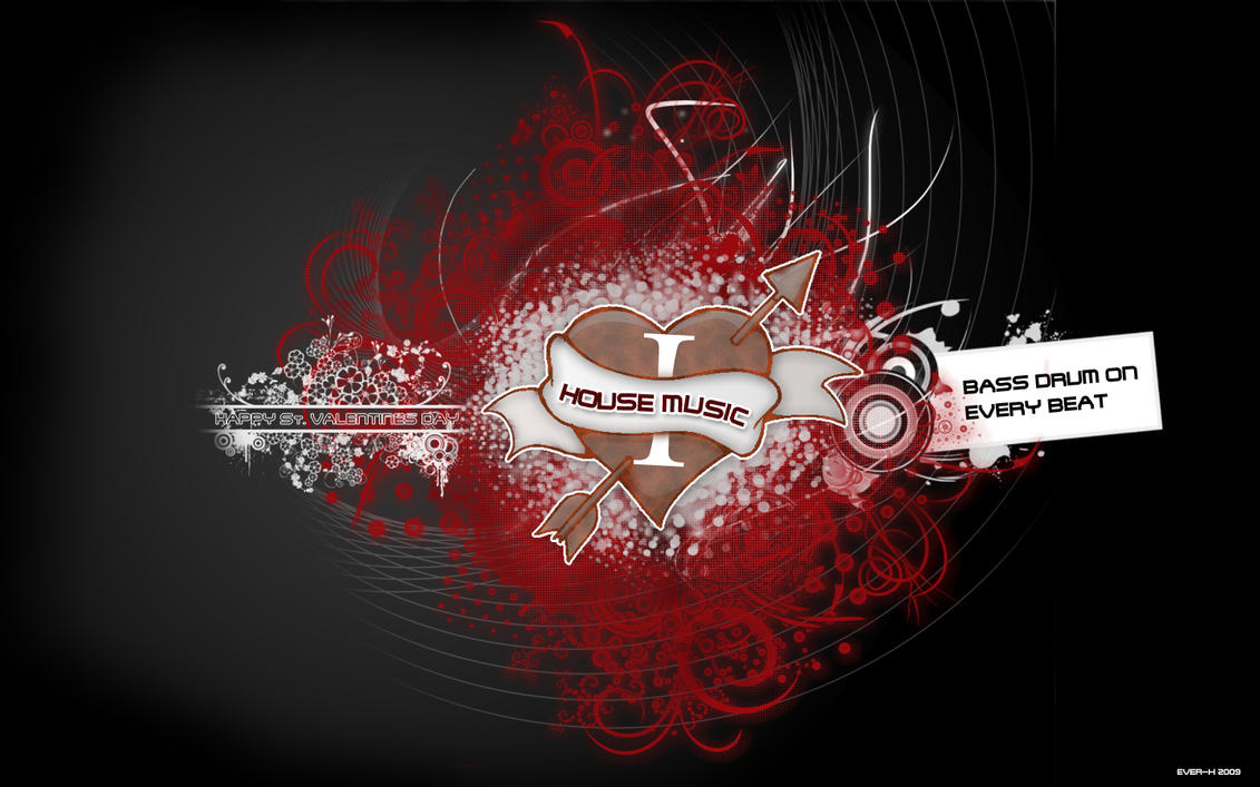 House music by ever x on deviantart for House music art