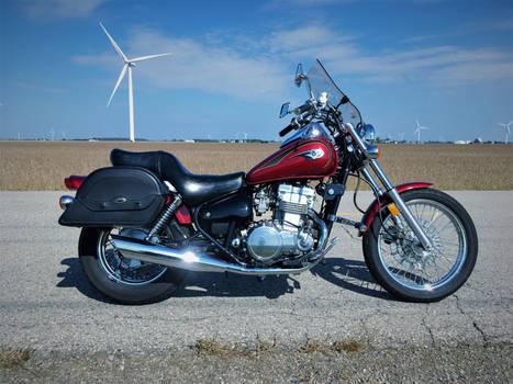 Motorcycle - Kawasaki Vulcan 500