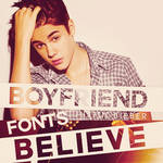 JustinB. Fonts by JustFlawless